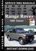 Thumbnail 1989 Range Rover Classic Service Repair Manual Download
