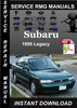 Thumbnail 1995 Subaru Legacy Service Repair Manual Download