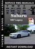Thumbnail 1997 Subaru Legacy Service Repair Manual Download