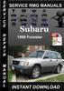 Thumbnail 1999 Subaru Forester Service Repair Manual Download