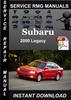 Thumbnail 2000 Subaru Legacy Service Repair Manual Download