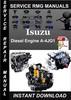 Thumbnail Isuzu Diesel Engine A-4JG1 Service Repair Manual Download