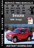 Thumbnail 1999 Isuzu Amigo Service Repair Manual Download