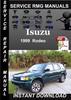 Thumbnail 1999 Isuzu Rodeo Service Repair Manual Download