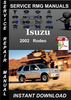 Thumbnail 2002 Isuzu Rodeo Service Repair Manual Download