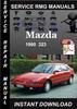 Thumbnail 1990 Mazda 323 Service Repair Manual Download