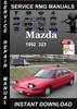 Thumbnail 1992 Mazda 323 Service Repair Manual Download