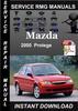 Thumbnail 2000 Mazda Protege Service Repair Manual Download