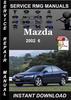 Thumbnail 2002 Mazda 6 Service Repair Manual Download