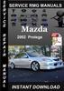Thumbnail 2002 Mazda Protege Service Repair Manual Download