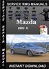 Thumbnail 2003 Mazda 6 Service Repair Manual Download
