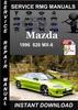 Thumbnail 1996 Mazda 626 MX-6 Service Repair Manual Download