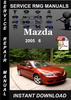 Thumbnail 2005 Mazda 6 Service Repair Manual Download