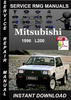 Thumbnail 1996 Mitsubishi L200 Service Repair Manual Download