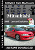 Thumbnail 2003 Mitsubishi Lancer Evolution Service Repair Manual Downl