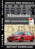 Thumbnail 2005 Mitsubishi Lancer Evolution Service Repair Manual Downl