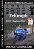 Thumbnail 2002 Triumph Daytona 955i Service Repair Manual Download