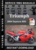 Thumbnail 2004 Triumph Daytona 955i Ser Service Repair Manual Download