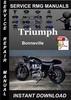 Thumbnail Triumph Bonneville Service Repair Manual Download