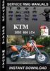 Thumbnail 2003 KTM 660 LC4 Service Repair Manual Download