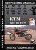 Thumbnail 2009 KTM 400 EC-W Service Repair Manual Download