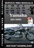 Thumbnail 2001 Yamaha EW50 Service Repair Manual Download