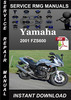 Thumbnail 2001 Yamaha FZS600 Service Repair Manual Download