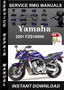 Thumbnail 2001 Yamaha FZS1000N Service Repair Manual Download