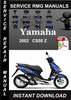 Thumbnail 2002 Yamaha CS50 Z Service Repair Manual Download