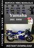 Thumbnail 2002 Yamaha EW50 Service Repair Manual Download