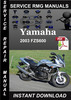 Thumbnail 2003 Yamaha FZS600 Service Repair Manual Download