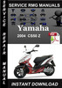 Thumbnail 2004 Yamaha CS50 Z Service Repair Manual Download