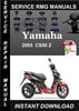 Thumbnail 2005 Yamaha CS50 Z Service Repair Manual Download