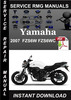 Thumbnail 2007 Yamaha FZS6W FZS6WC Service Repair Manual Download