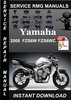 Thumbnail 2008 Yamaha FZS6W FZS6WC Service Repair Manual Download