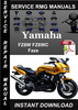 Thumbnail Yamaha FZ6W FZ6WC Fazer Service Repair Manual Download