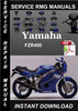 Thumbnail Yamaha FZR400 Service Repair Manual Download