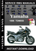 Thumbnail 1996 Yamaha TDM850 Service Repair Manual Download
