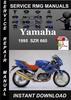 Thumbnail 1995 Yamaha SZR 660 Service Repair Manual Download