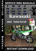 Thumbnail 2002 Kawasaki KX85 KX100 Service Repair Manual Download