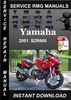 Thumbnail 2001 Yamaha SZR660 Service Repair Manual Download