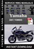 Thumbnail 2001 Yamaha TDM900 Service Repair Manual Download