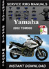 Thumbnail 2002 Yamaha TDM900 Service Repair Manual Download