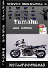 Thumbnail 2003 Yamaha TDM900 Service Repair Manual Download