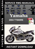 Thumbnail 2004 Yamaha TDM900 Service Repair Manual Download