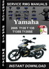 Thumbnail 2005 Yamaha T135 T 135 T135S T135SE Service Repair Manual Do