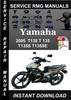 Thumbnail 2005 Yamaha T135 T 135 T135S T135SE Service Repair Manual Do