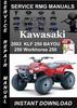 Thumbnail 2003 Kawasaki KLF 250 BAYOU 250 Workhorse 250 Service Repair