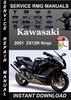 Thumbnail 2001 Kawasaki ZX12R Ninja Service Repair Manual Download