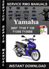 Thumbnail 2007 Yamaha T135 T 135 T135S T135SE Service Repair Manual Do